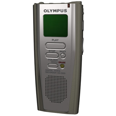 3dsmax voice recorder olympus ds3000