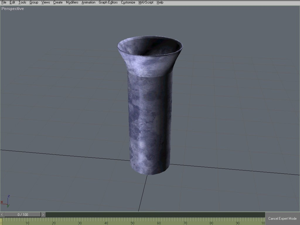 free vase place 3d model