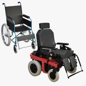 3d electrical wheel-chair