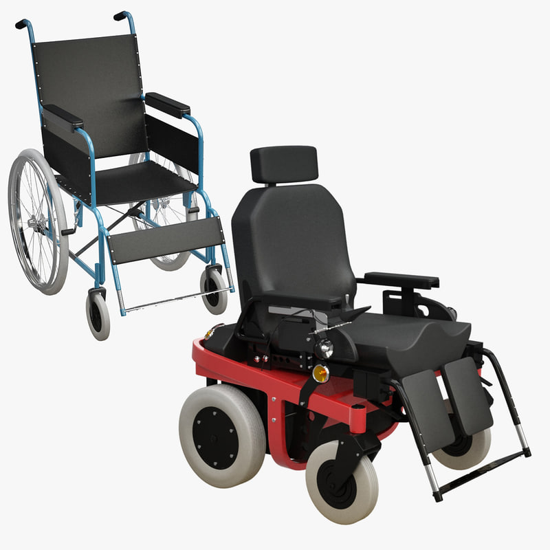3d electrical wheel-chair