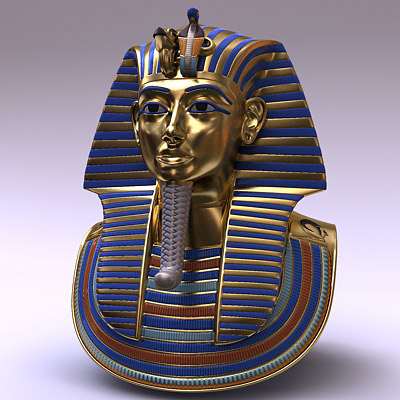 tutankhamun tutankhamon mask 3d model
