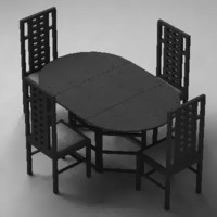 maya dining table chairs