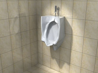 3dsmax urinal