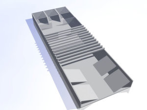 free new building 3d model
