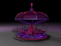 Neon Carousel