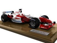 3ds max toyota tf104 formula car