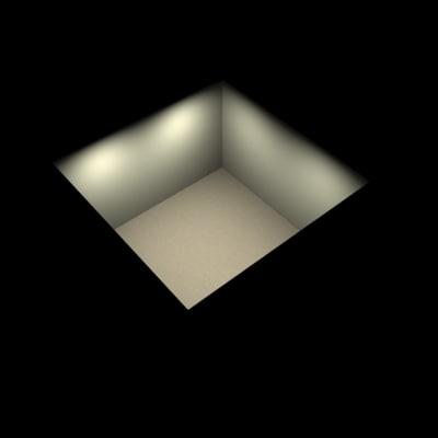 3dsmax room photometric