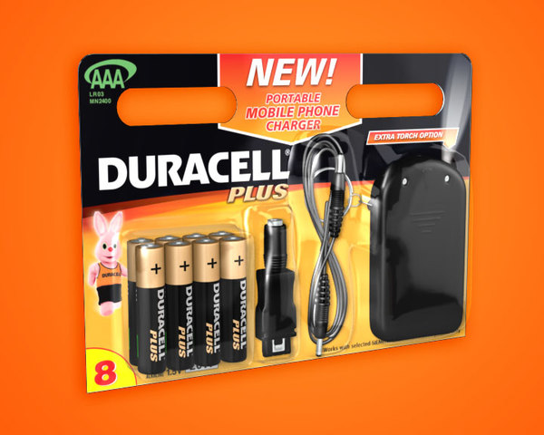 duracell pack charger 3d lwo