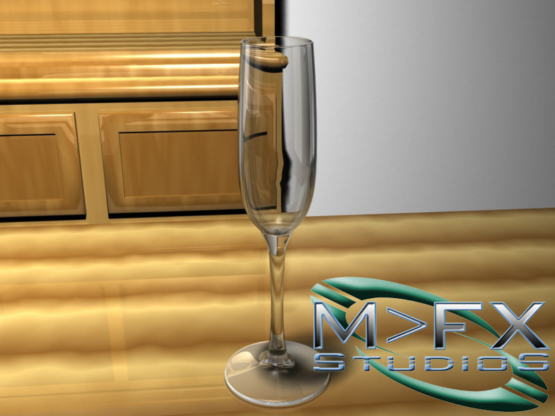 lwo wine glass