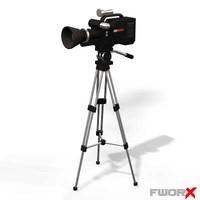 3d tv camera model