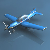 lightwave pilatus pc-9 plane