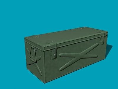 ammo box 3d max