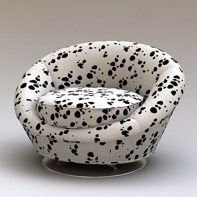 3ds seat chair