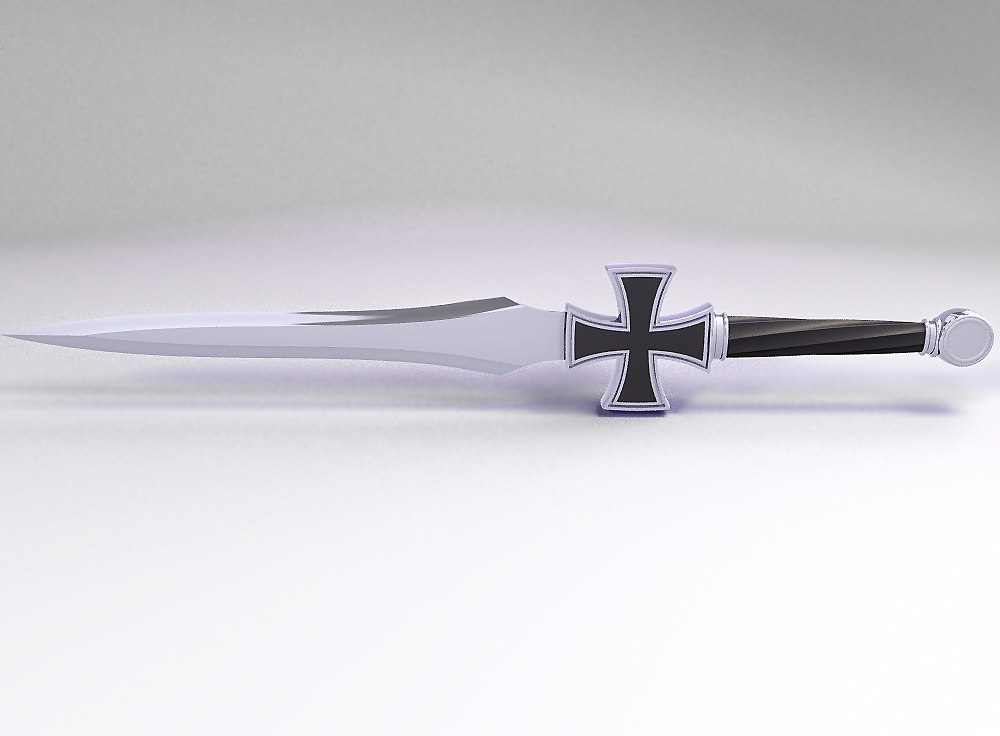 sword maltese 3d model
