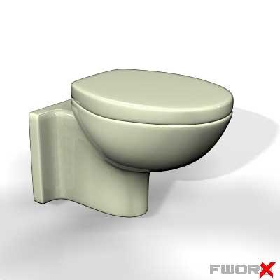 toilet bidet 3d max