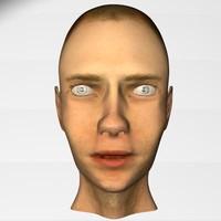 free 3ds model head