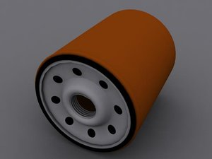 3ds max oil filter