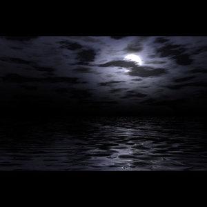 moonlit environment sky 3d model