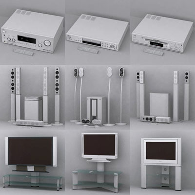 sony vcr 3d model