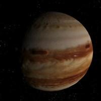3d model planet jupiter