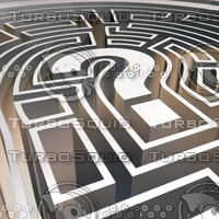 3d maze question model