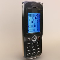 alcatel touch 715 3d model