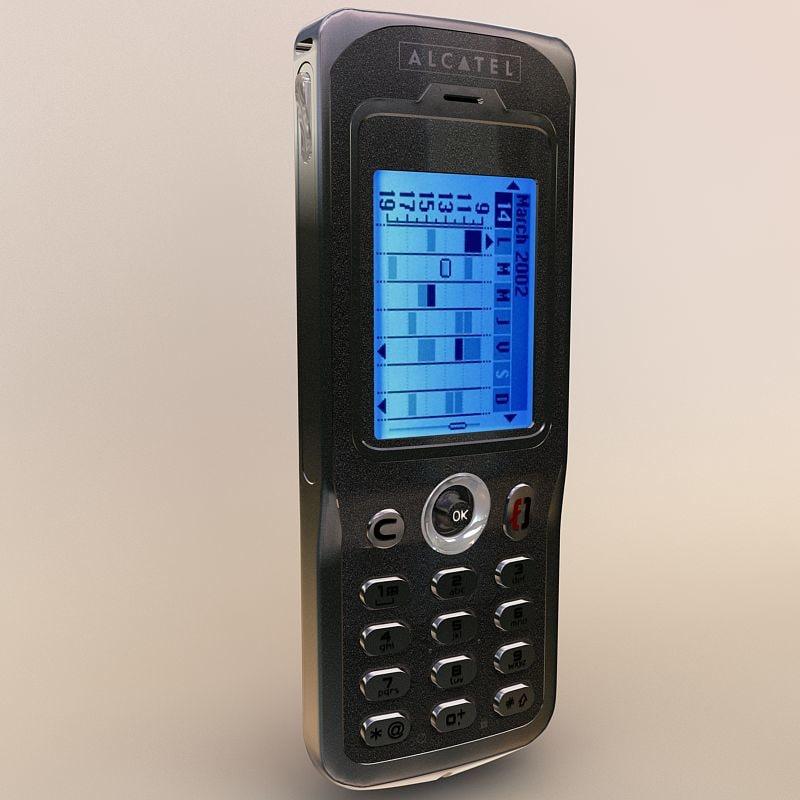 alcatel touch 715 3d model