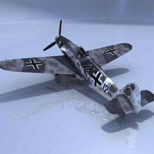 plane fighter messerschmitt ma