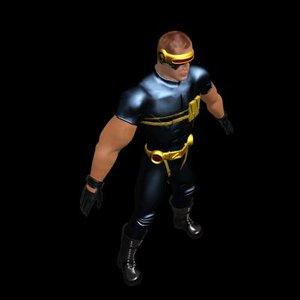 ultimate cyclops 3d model