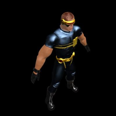 ultimate cyclops 3d model