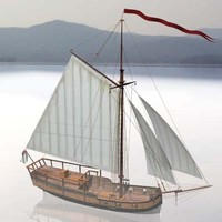 sloop halifax 3d max
