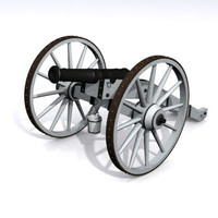 3d 3ds 18th french cannon