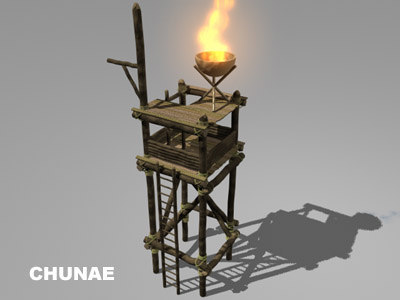 watch tower 3d ma