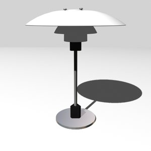 3d model of lamp ph 4 3