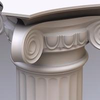 3ds column doric order