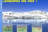3d landscapes pack 1