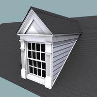dormer house 3d model