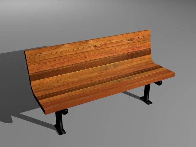 park bench max
