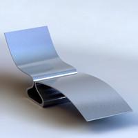 3d model chaise longue