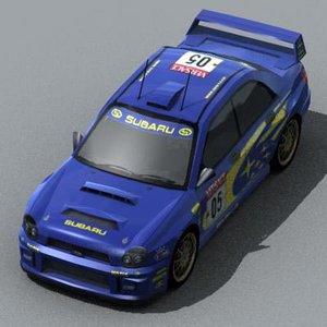 car prodrive 3d model