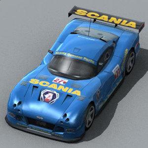 car tvr 3d model