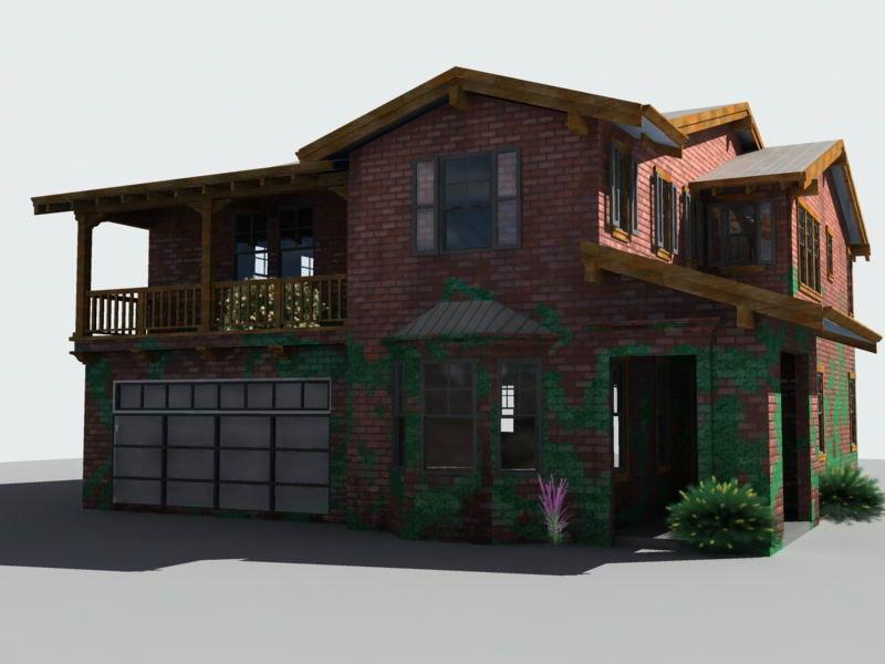 house old 3d model