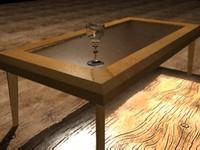 table and glass.rar
