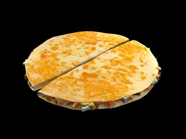 chicken quesadilla max