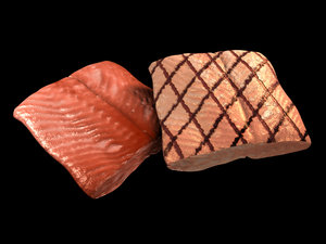grilled salmon ma