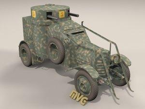 3d lancia ansaldo l1zm model