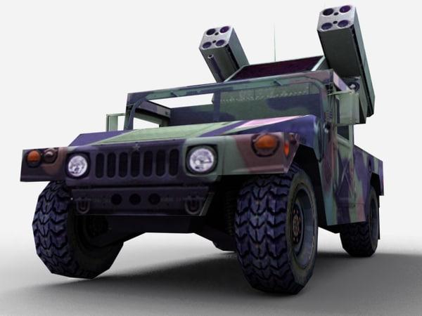 avenger air 3d model