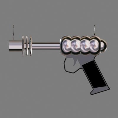 free raygun 3d model