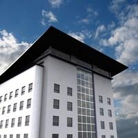 modern asian hotel office 3d 3ds