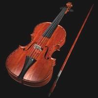 Violino_C4d